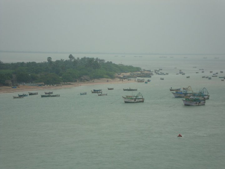 Fleet of Trawlers at Rameshwaram